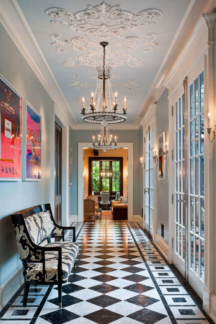 Foyer vestibule interior design forbes design consultants for Apartamentos minimalistas